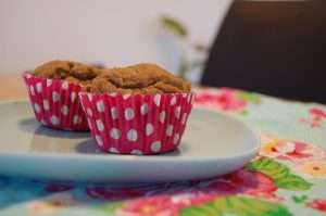 Banana Coconut Flour Muffins