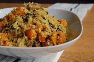 Cauliflower Pumpkin Rice