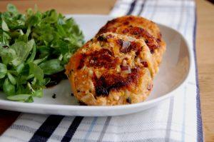 Salmon Sweet Potato Cakes