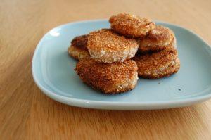 Coconut Plantain Nuggets