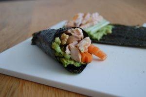 Paleo Temaki Sushi