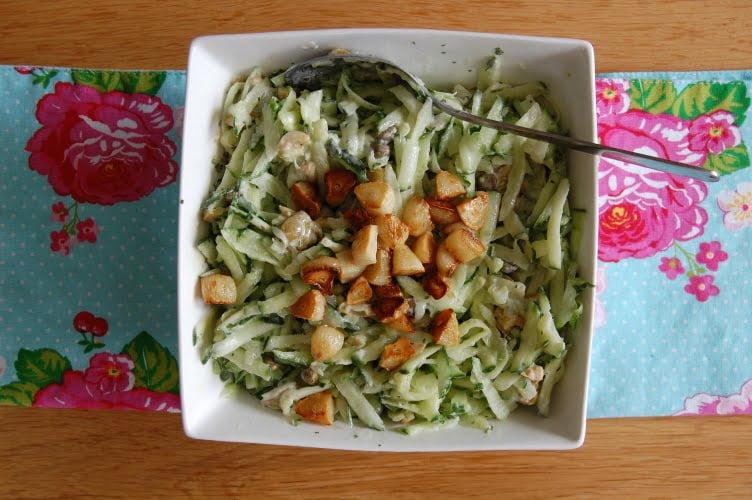 Mediterrane komkommersalade