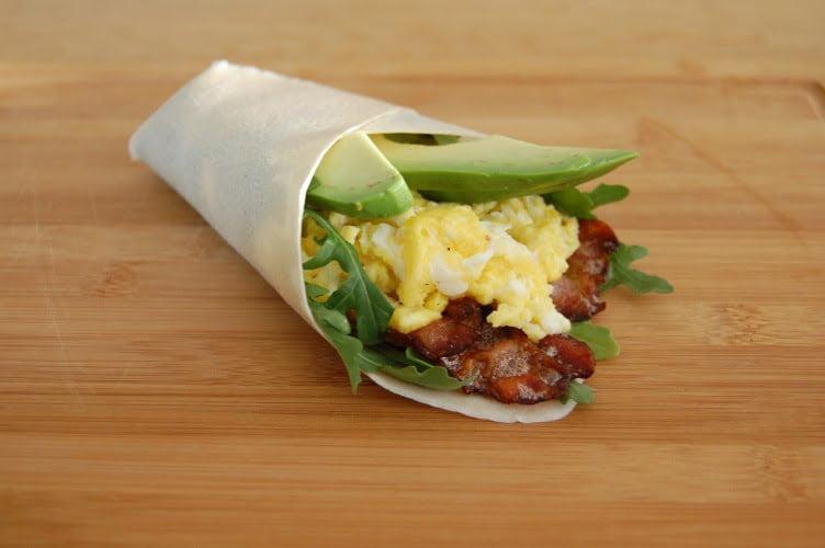 ontbijt met eieren