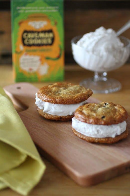 Caveman Cookie ice-cream sandwiches