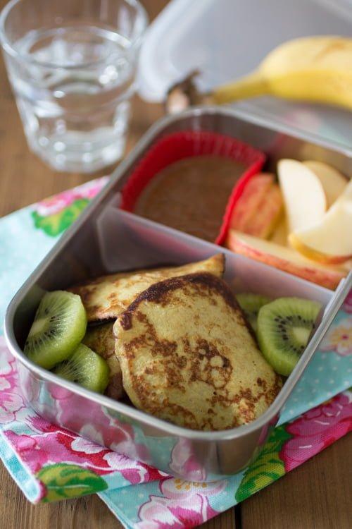 Paleo Lunch - Bananenpannenkoekjes met fruit - EetPaleo