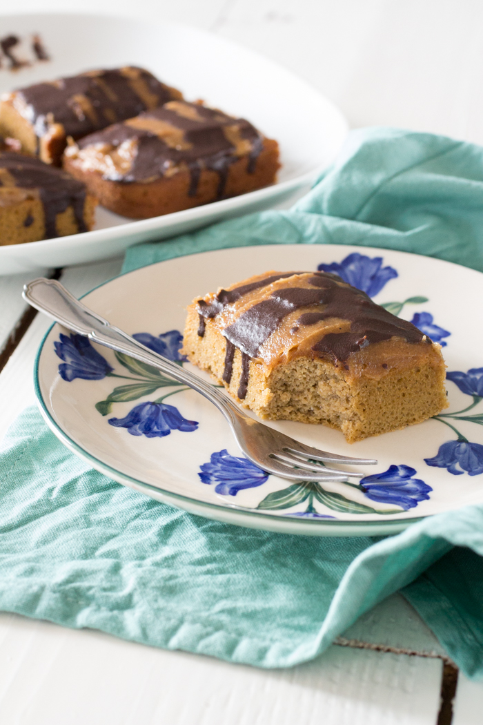 Salted Caramel Paleo2Go cake