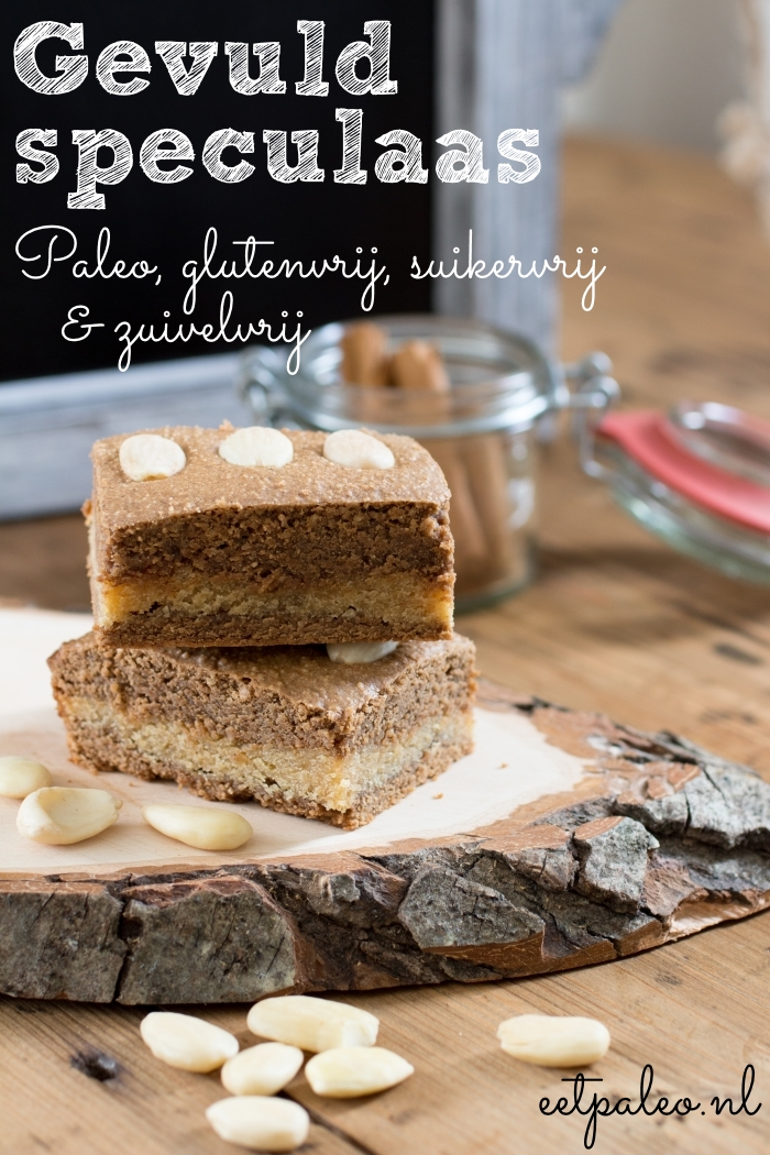 Gevuld Speculaas-pin