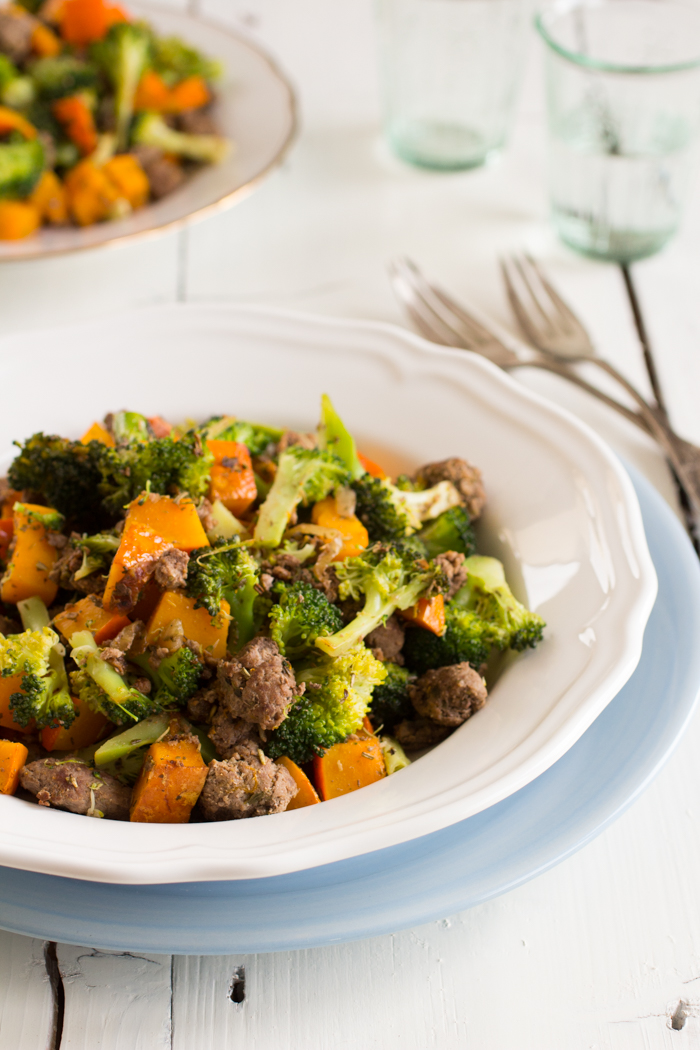 Paleo gehakt met broccoli