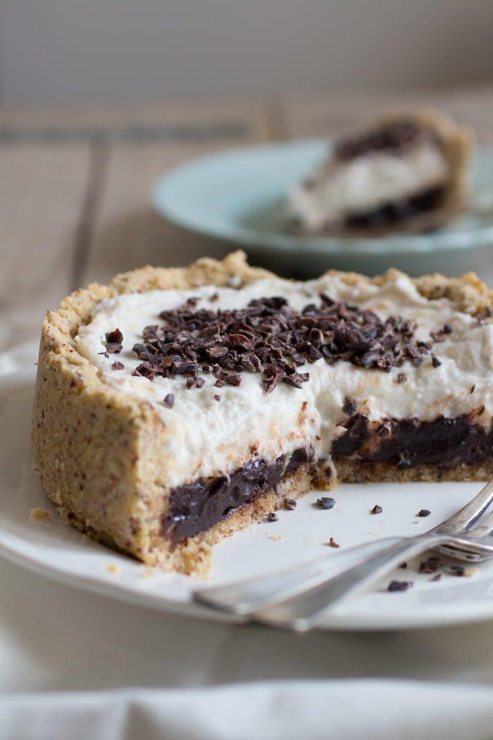 Hazelnoot Chocolade Banaantaartje