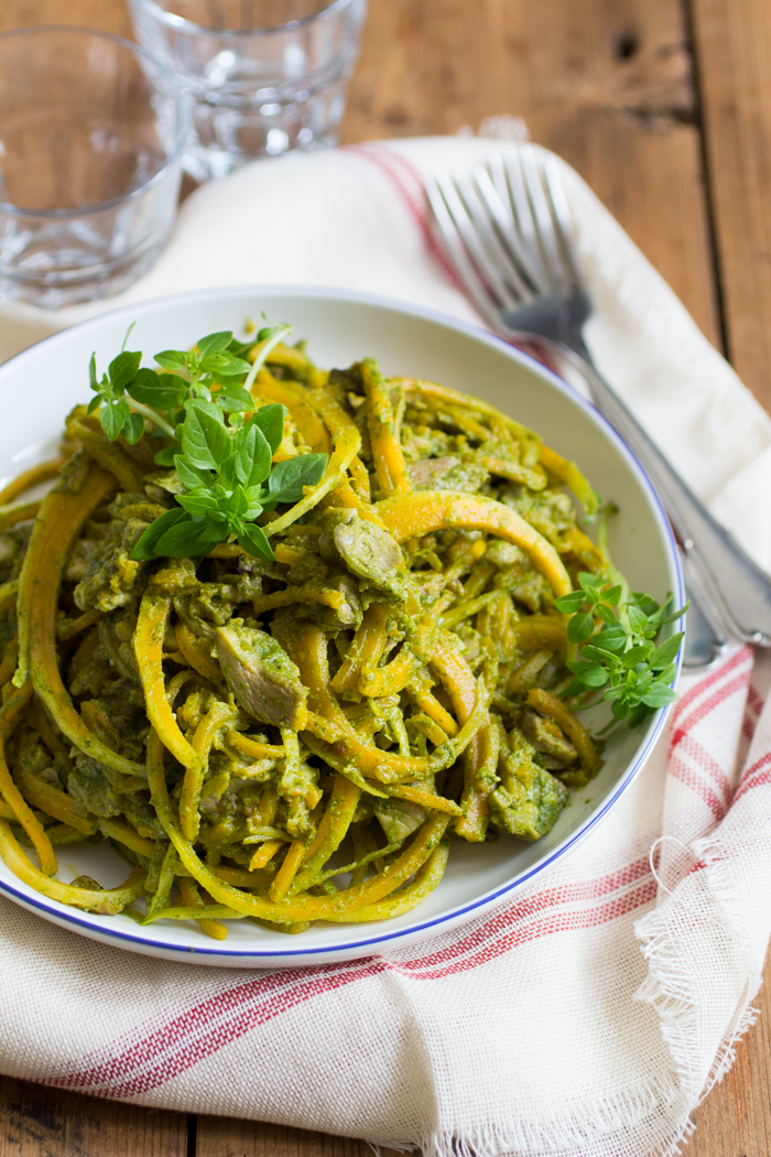 Snelle Pesto Pasta