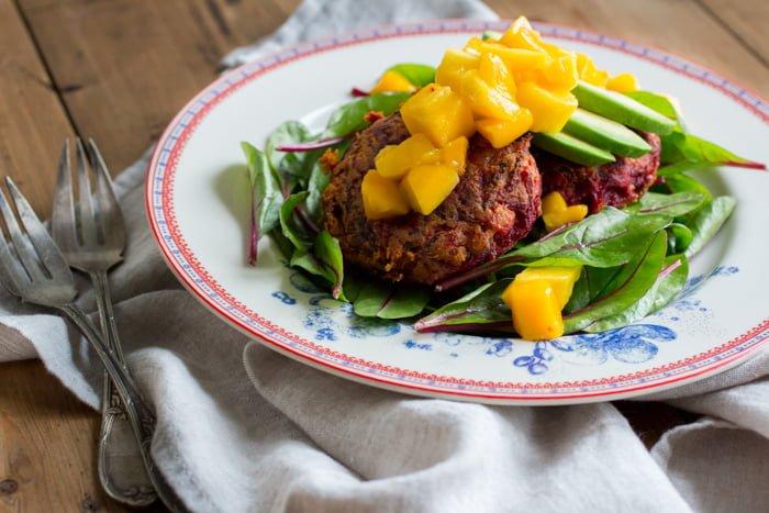 Vegetarische Bietenburgers