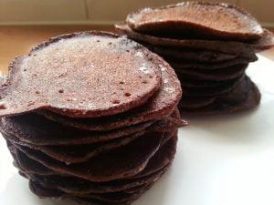 Paleo Chocolade Pannenkoeken