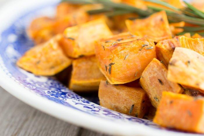 Gebakken Zoete Aardappel uit de Oven