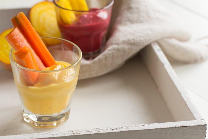 Groentesticks met Fruitige Dip