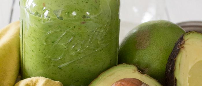 Lunchspecial - groene powersmoothie