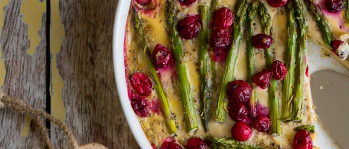 Lunchspecial - groentetaart met cranberries