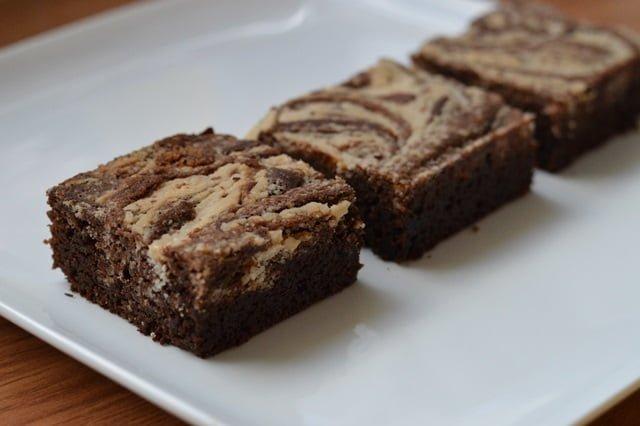 Paleo Brownies met Kokos Swirl