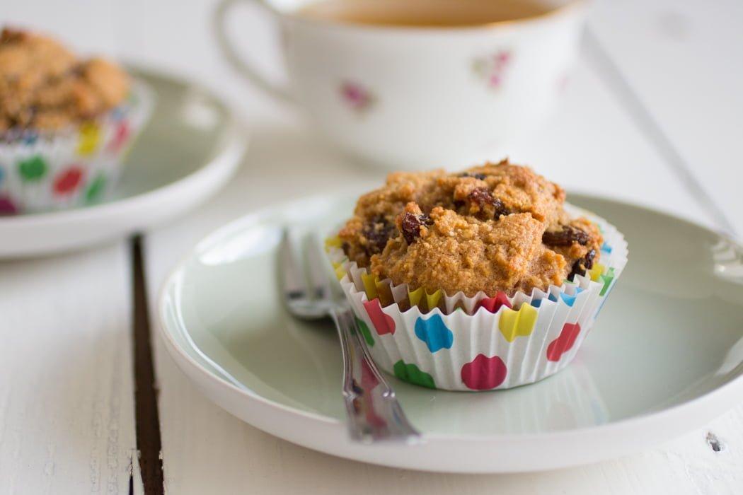 Paleo Rozijnen Cupcakes
