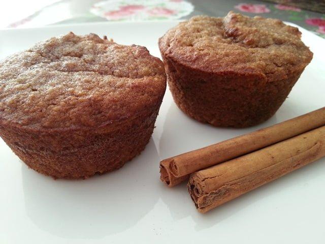 Appelcakejes zonder suiker