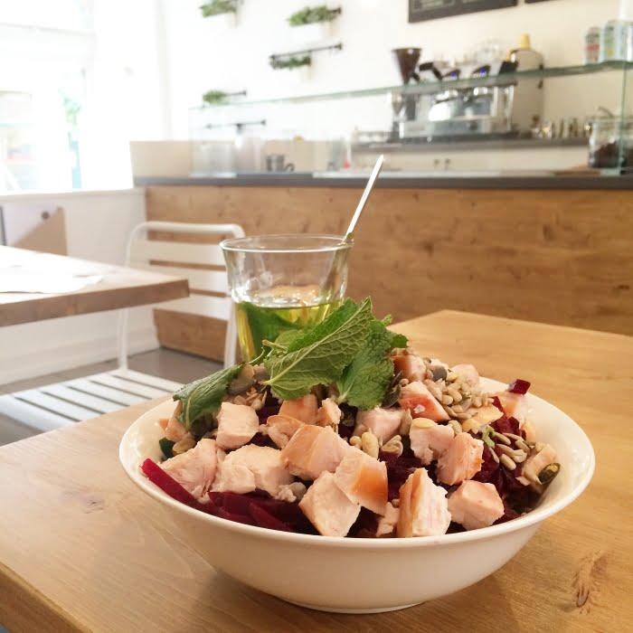 Salade bij MUNT in Nijmegen
