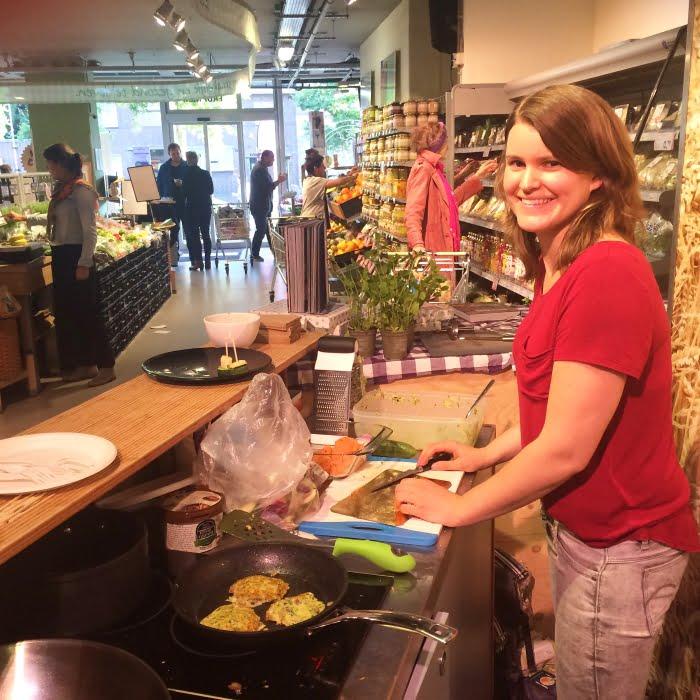 Paleo leven - koken bij EkoPlaza op de klantenavond
