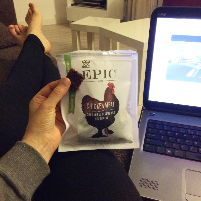 Paleo leven - EPIC snacks met kip