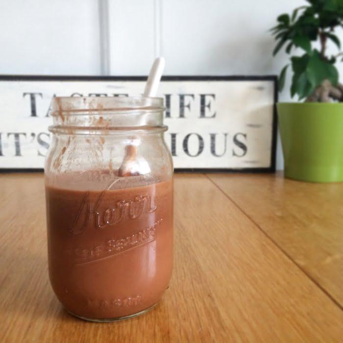 Paleo leven - choco ontbijt drankje