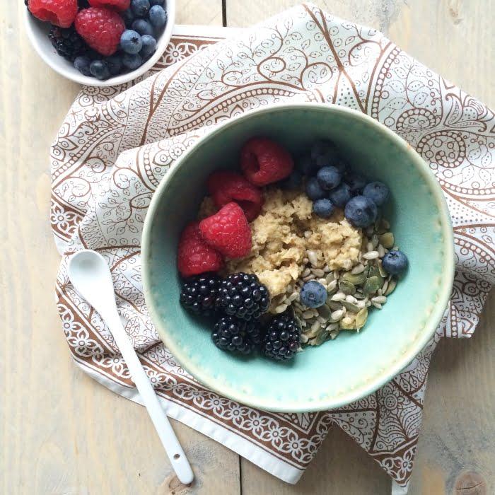 Paleo leven - Paleo havermout ontbijt