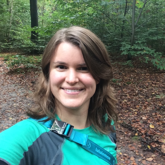 Selfie in het bos bij Berg en Dal