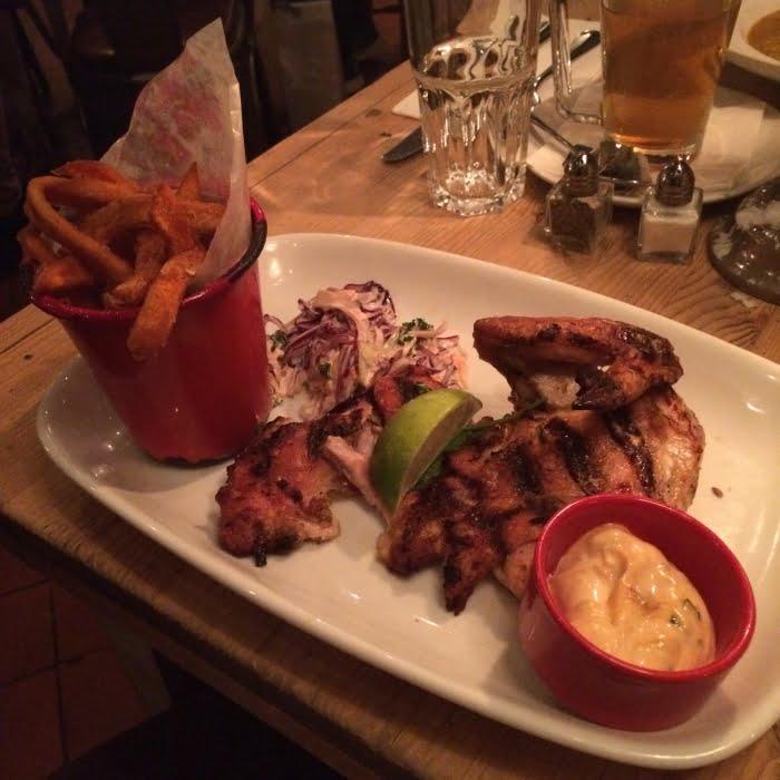 Heerlijk eten bij Bill's in Londen