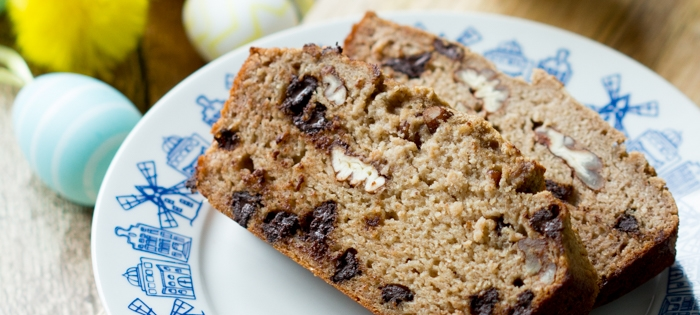 Taartenspecial - Chocolate Chip Bananenbrood