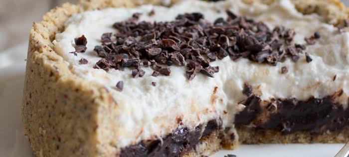 Taartenspecial - Hazelnoot-chocolade-banaantaartje