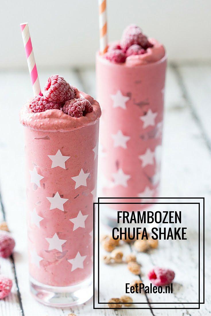 Frambozen Chufa Shake