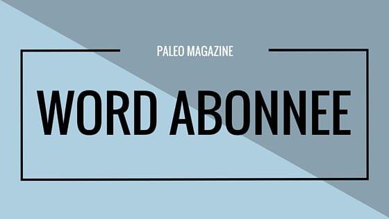 Paleo Magazine Abonnee Worden
