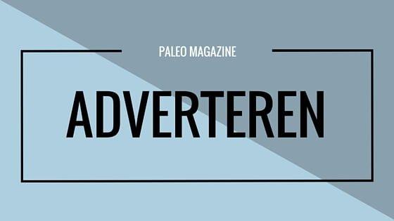 Paleo Magazine Adverteren