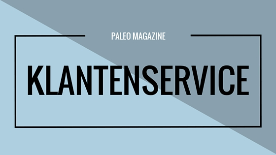 Paleo Magazine Klantenservice