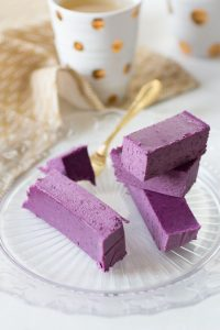 Blueberry Fudge met Cacaoboter