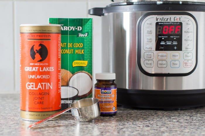 Kokosyoghurt uit de InstantPot