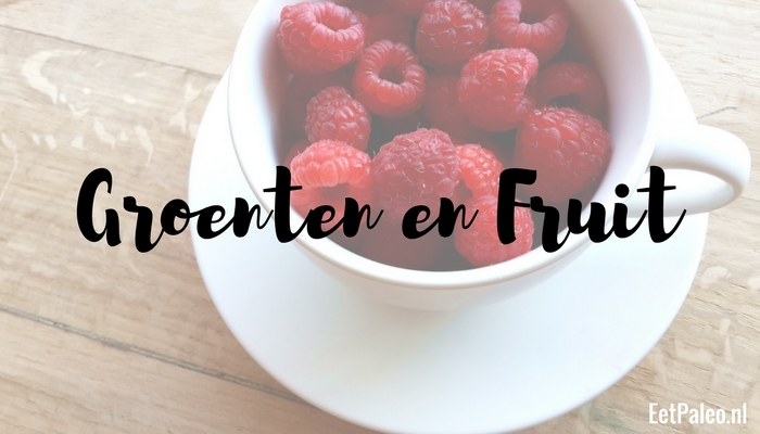 Groenten en Fruit - Paleo Budget