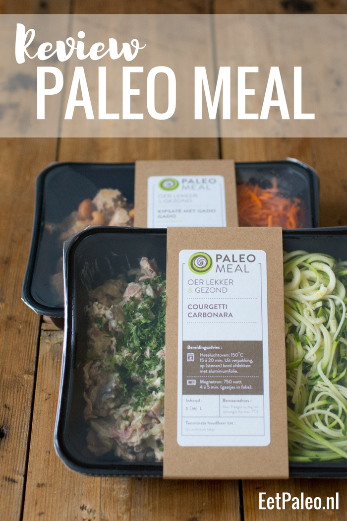 Review Paleo Meal