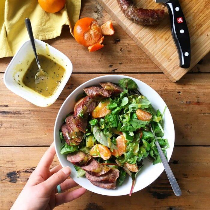 Mijn Paleo dag - lunchsalade