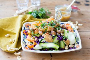 Pad Thai salade met Kip