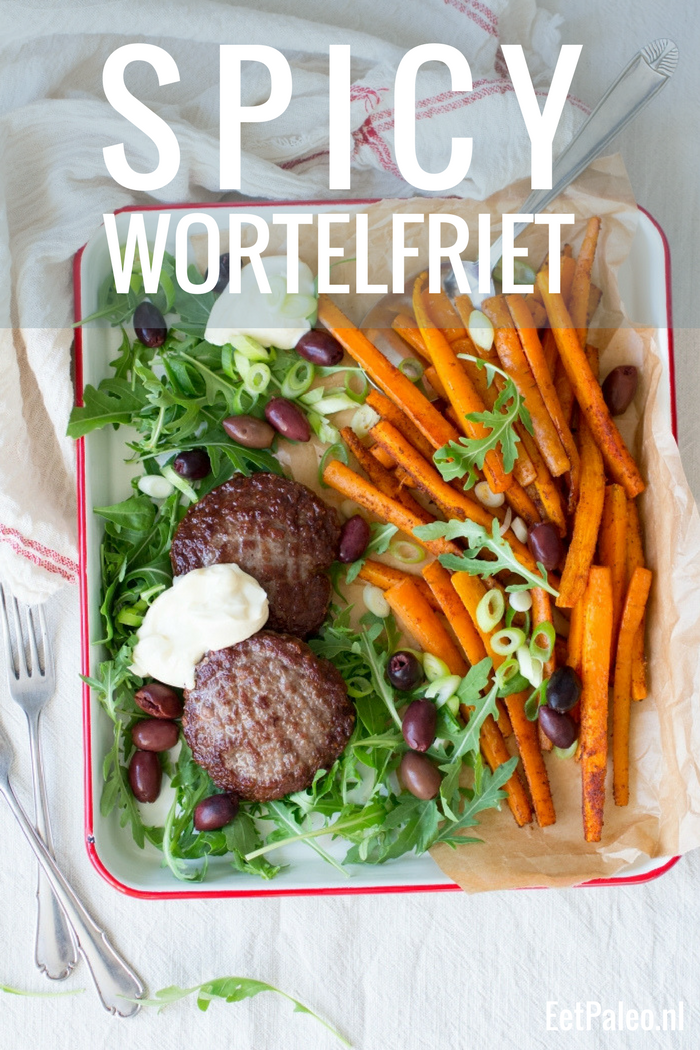 Spicy wortelfriet