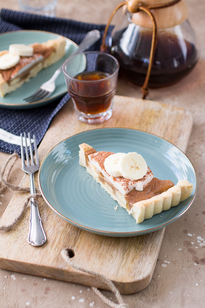 Notenvrije Banoffee Pie