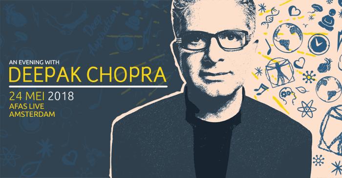 Deepak Chopra Amsterdam