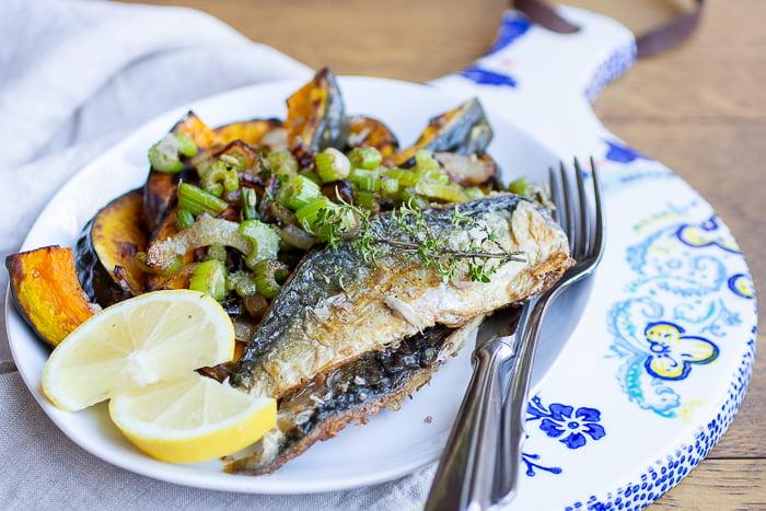 Makreel met Herfstgroenten recept verse visbox